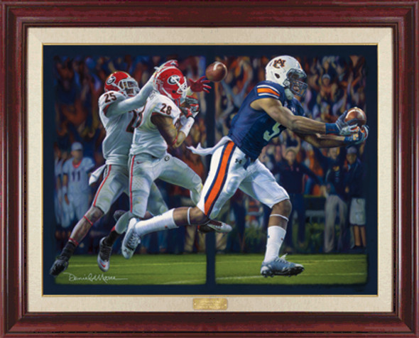 """Miracle on the Plains"" - Canvas Editions - Auburn Football vs. Georgia 2013"