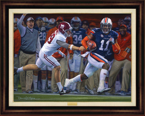 """The Runback"" - Canvas Editions - Auburn Football vs. Alabama 2013"
