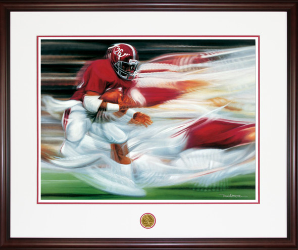 """Flashback"" - Print Edition - Alabama Football (Bobby Humphrey)"