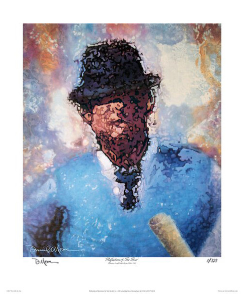 """Reflections of the Bear""  Limited Edition Prints- Alabama Football Coach (Paul W. ""Bear"" Bryant)"