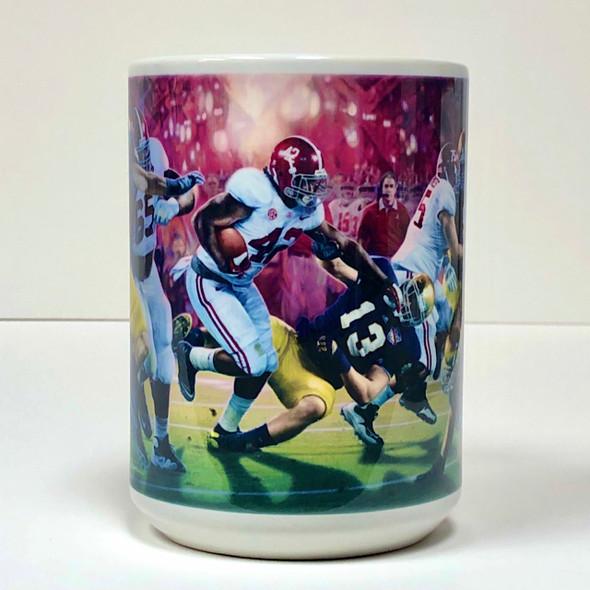 Alabama Football Beverage Mugs (15 oz.) - [Set of 2]