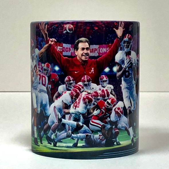 Alabama Football Beverage Mugs (11 oz.) [Set of 4]