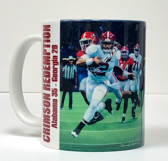 Alabama Football Beverage Mugs (11 oz.) [Set of 4]