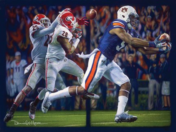 Miracle on the Plains Collegiate Classic print