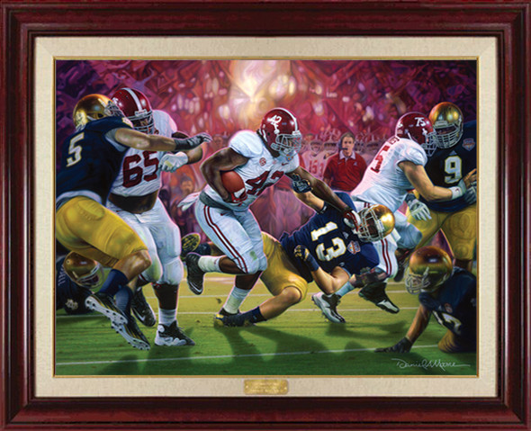 """Crimson Dynasty"" - Canvas Editions - Alabama Football 2012 National Champions"