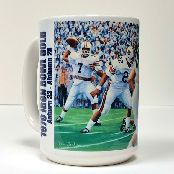 Auburn Football Beverage Mugs (15 oz.) [Set of 2]