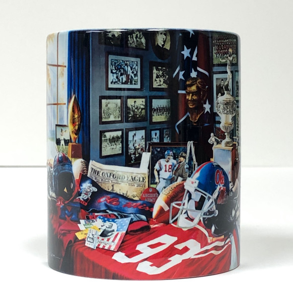 """Ole Miss Legacy"" 11oz Beverage Mug (Mississippi Football)"