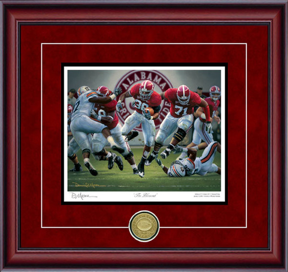 """The Blowout"" - Collegiate Classic 8x10 - Alabama Football vs. Auburn 2008"