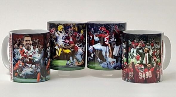 Alabama Football - Championship Moments Mug Collection