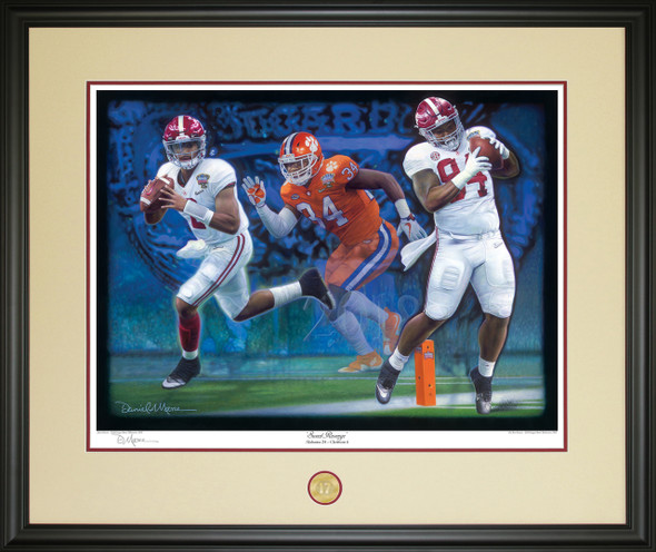 """Sweet Revenge"" - Limited Edition Giclées - Alabama vs. Clemson - CFP Semi-Finals - 2018 Sugar Bowl"