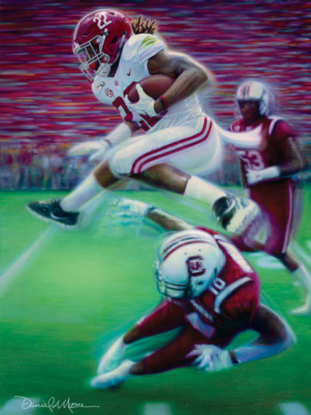 """The Hurdle"" - Limited Edition Prints - 2019 Alabama Football vs. South Carolina"