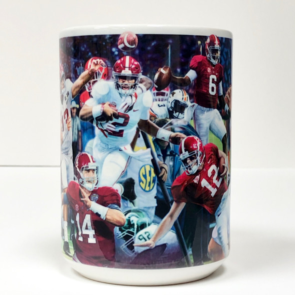 """Championship Quarterbacks"" - 2019 Limited Edition 15 oz. Mug - Third in Series"