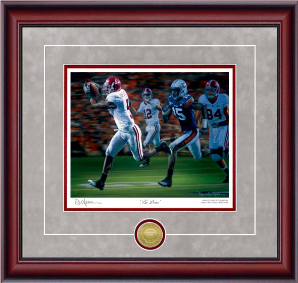 """The Drive"" - Collegiate Classic 8x10 - Alabama Football vs. Auburn 2009"
