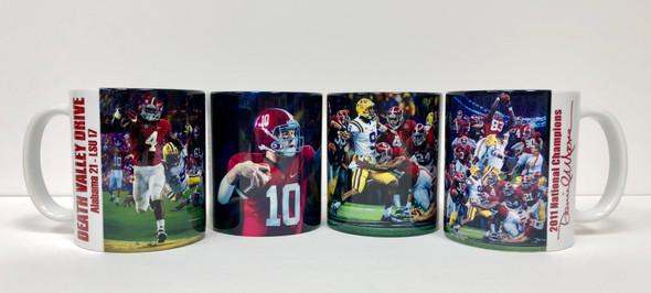 Alabama Football - LSU Moments Mug Collection