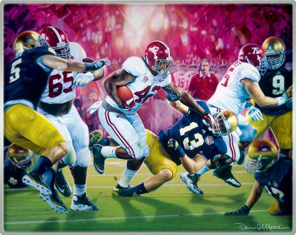 Crimson Dynasty - Metallic Art Print - Alabama Football