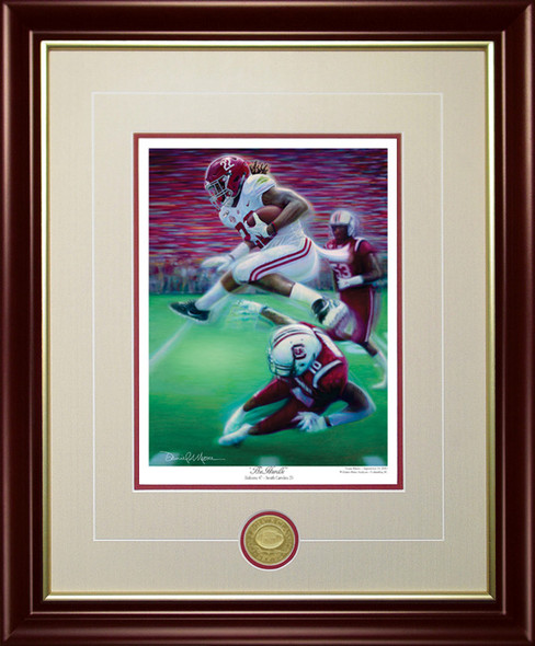 """The Hurdle"" - Collegiate Classic 8x10 Print - Alabama Football vs. South Carolina"