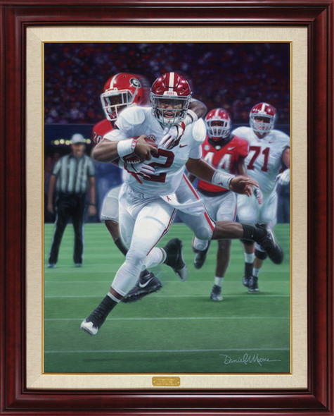 """Crimson Redemption"" - Canvas Editions -  Alabama vs. Georgia - 2018 SEC Champions"