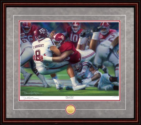 """""""Leap of Faith"""" - Limited Edition Prints (Alabama Football vs. Texas A&M 2016)"""