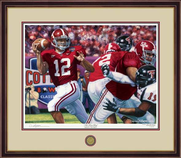 """The Last Pass"" - Print Editions - Alabama Football vs. Texas Tech 2006 (Cotton Bowl)"