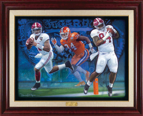 """Sweet Revenge"" - Limited Edition Canvases - Alabama vs. Clemson - CFP Semi-Finals - 2018 Sugar Bowl"