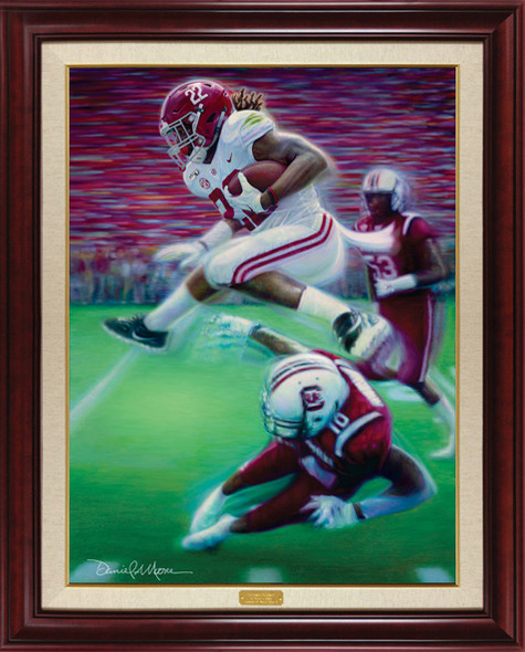 """The Hurdle"" - Limited Edition Canvases - 2019 Alabama Football vs. South Carolina"