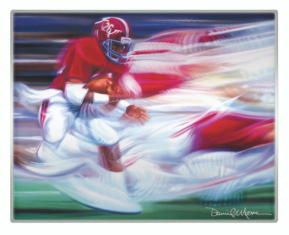 Metallic Art Prints - Set of 2 Horizontal - Alabama Football