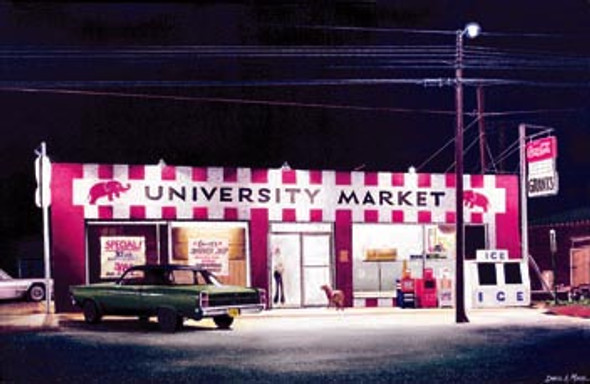 """University Market"" by Daniel A. Moore"