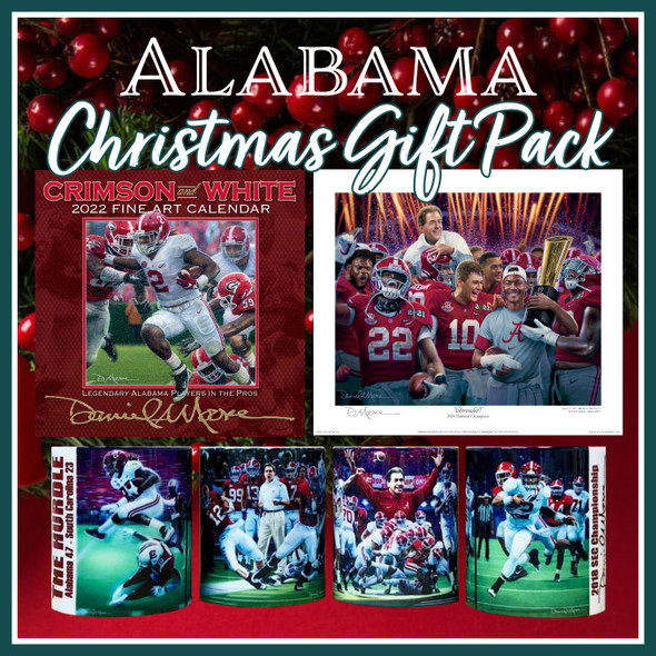 2021 Alabama Christmas Gift Pack — Six Items For Only $79!