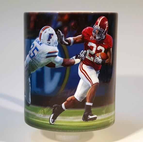 """The Heisman Spirit"" 11oz Beverage Mug - Alabama Football 2009 SEC Champions (Mark Ingram)"