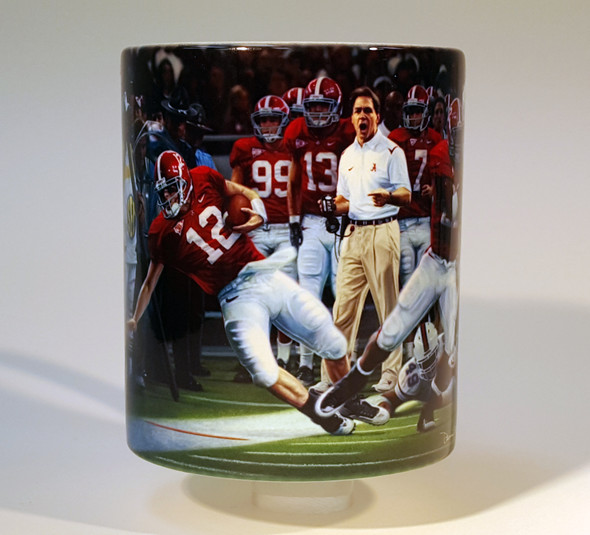 """Champions"" 11oz Beverage Mug - Alabama Football 2009 SEC Champions"