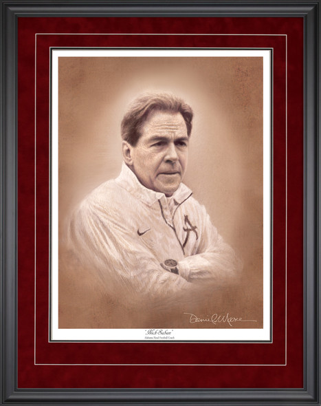 Coach Nick Saban Portrait