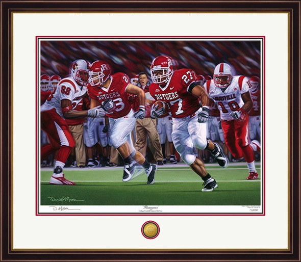 """Resurgence"" - Limited Edition Prints - Rutgers Football vs. Louisville 2006"
