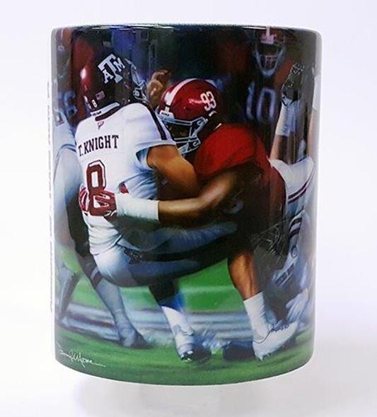 """Leap of Faith"" 11oz Beverage Mug - Alabama Football vs. Texas A&M 2016"