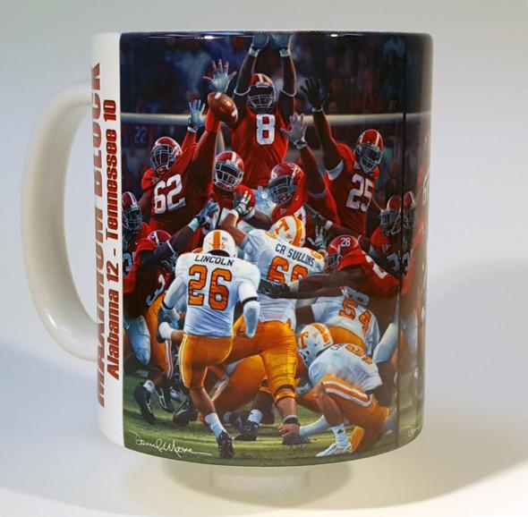 """Maximum Block"" 11oz Beverage Mug - Alabama Football"