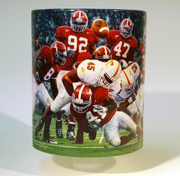 """Rocky Stop"" 11oz Beverage Mug - Alabama Football"