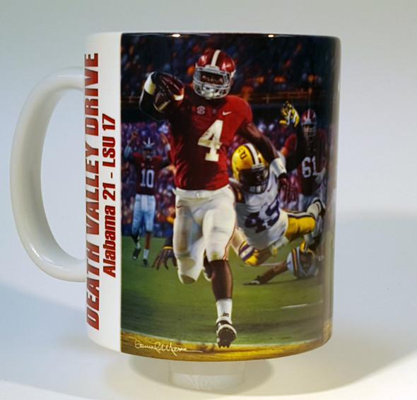 """Death Valley Drive"" 11oz Beverage Mug - Alabama Football"