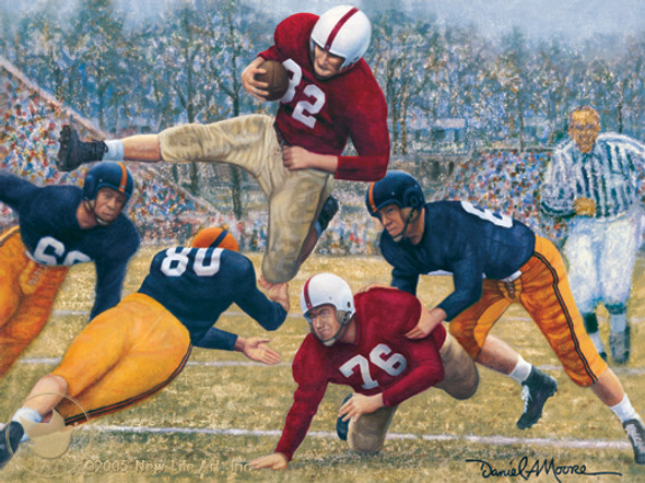"""Iron Bowl 1950"" - Alabama Football vs. Auburn"