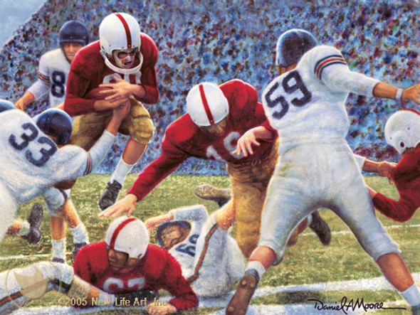"""Iron Bowl 1951"" - Alabama Football vs. Auburn"