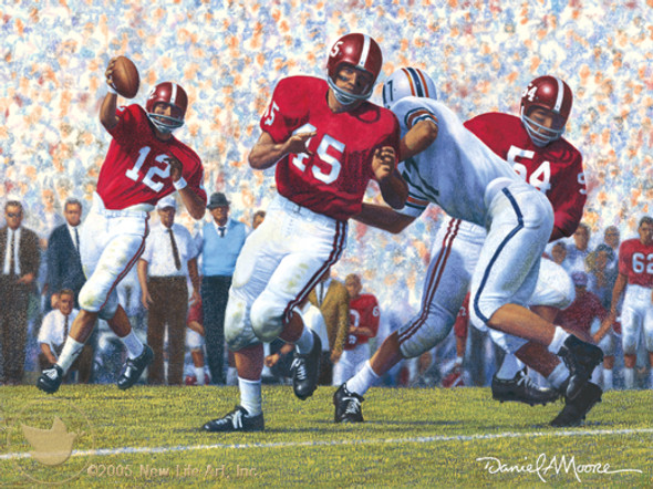 """Iron Bowl 1962"" - Alabama Football vs. Auburn"