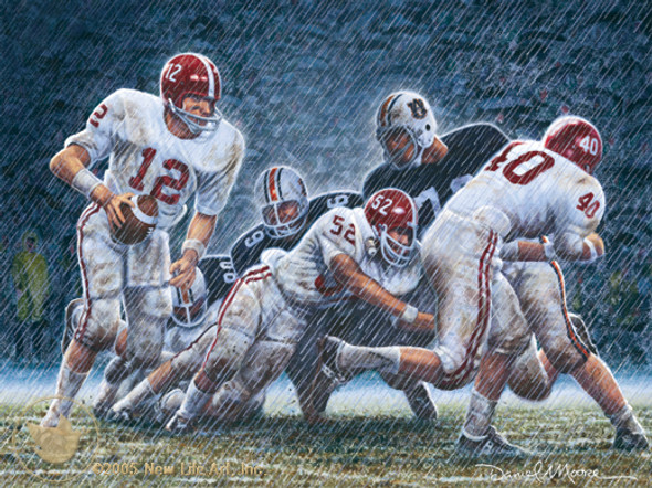 """Iron Bowl 1967"" - Alabama Football vs. Auburn"