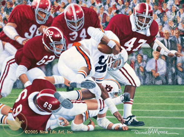 """Iron Bowl 1974"" - Alabama Football vs. Auburn"