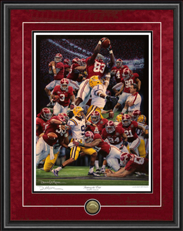 """Restoring the Order"" - Print Editions - Alabama Football 2011 National Champions"