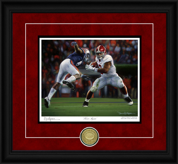 """Never Again"" - Collegiate Classic 8x10 - Alabama Football vs. Auburn 2011 (Trent Richardson)"