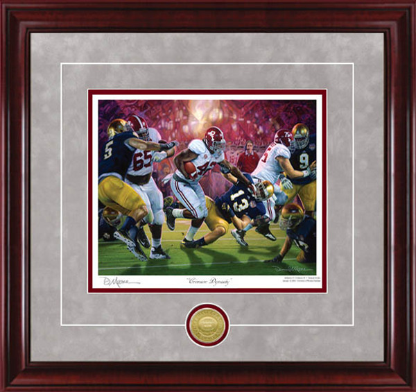 """Crimson Dynasty"" - Collegiate Classics 8x10 - Alabama Football 2012 National Champions"