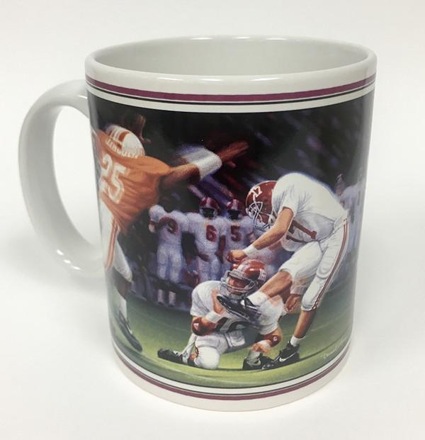 """Collector's Mug - """"The Kick II"""" (Alabama Football)"""
