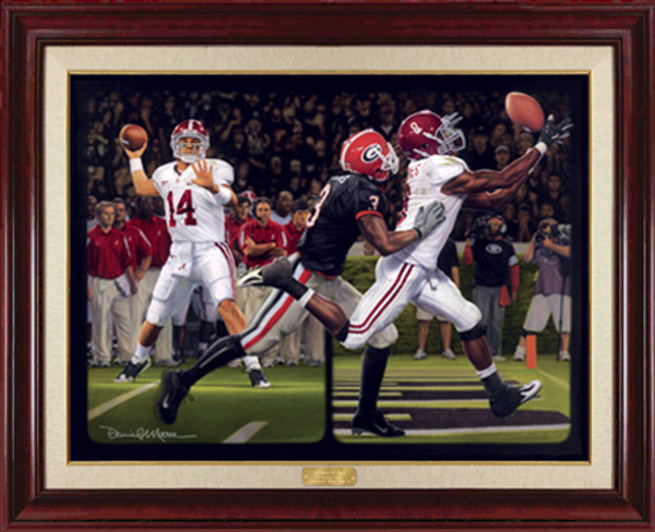 """The Blackout"" - Canvas Editions - Alabama Football vs. Georgia 2008"
