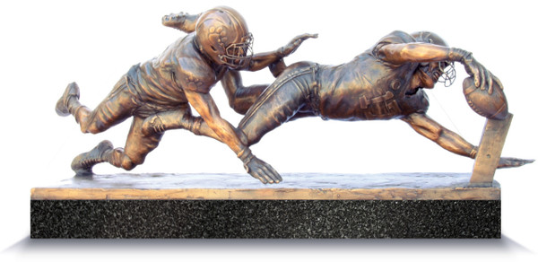 """Finish!"" - Medium, Bronze Cast - Alabama Football 2015 National Champions (Kenyan Drake)"