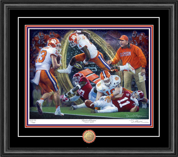 """Legends & Champions"" - Giclée Editions (Clemson Football 2016 National Champions)"