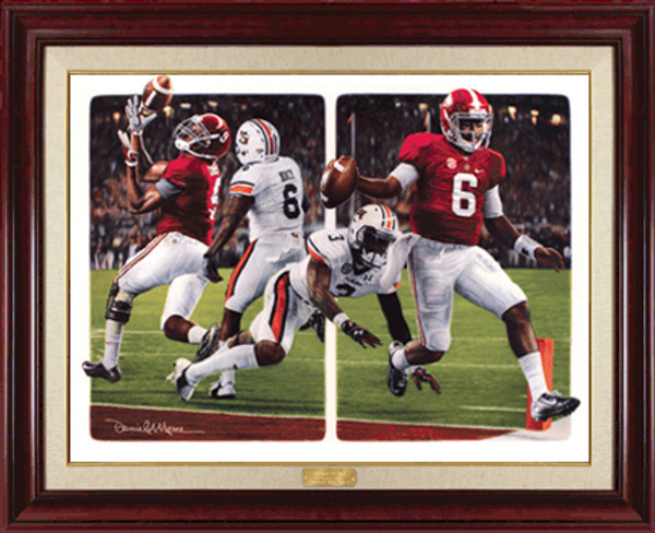 """The Game Changers"" - Canvas Editions - Alabama Football vs. Auburn 2014"