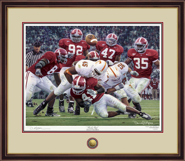 """Rocky Stop"" - Print Editions - Alabama Football vs. Tennessee 2005"